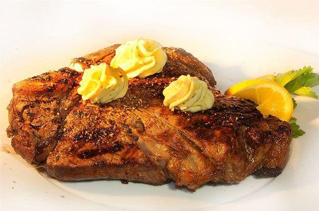 T-Bone Steak im Hotel Doppeladler Rees-Haldern am Niederrhein
